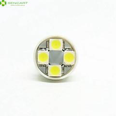 4 x T10 149 168 W5W 4 x SMD 3528 LED 6500K Auto-Rücklicht / Instrument-Lampe DC12V