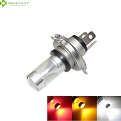 H4 P43T 30W 6xCREE White / Red / Yellow / Cold White 2100LM 6500K for Car Fog Light / daytime running lights  12-24V