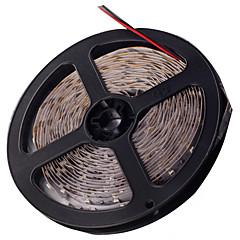 z®zdm ledet lys stripe light-emitting diode 3528smd 300led vanntett IP44 blå / rødt lys DC12V 5m / mye