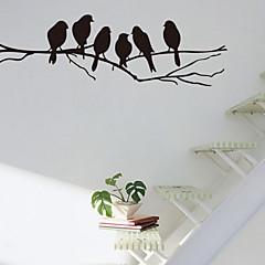 Животные / ботанический / Романтика / Натюрморт / Мода / Цветы / фантазия Наклейки Простые наклейки , PVC60x90x 0.1cm (23.622x35.433x