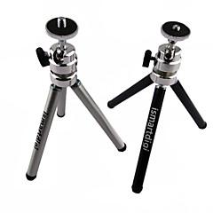 ismartdigi ir-11-bk 2 camada (alta 15cm / baixo oito centímetros) de 3 seções tripé de câmera (preto / porção)