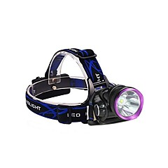 Lights Headlamps / Bike Lights LED 2500 Lumens 3 Mode 18650 Waterproof / Rechargeable / Impact ResistantCamping/Hiking/Caving / Everyday