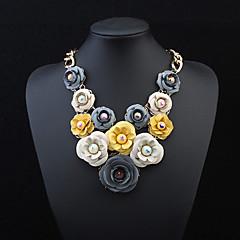 European Style Fashion Elegant Flowers Necklace