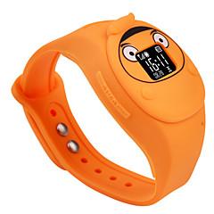 2015 novo design dos miúdos de alta qualidade gps sos telefone do relógio para crianças de segurança segura
