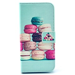 For iPhone 6 Case / iPhone 6 Plus Case Card Holder / with Stand / Flip / Pattern Case Full Body Case Cartoon Hard PU LeatheriPhone 6s