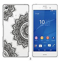 Mert Sony tok / Xperia Z3 Áttetsző Case Hátlap Case Rajzfilmfigura Puha TPU mert Sony Sony Xperia Z3
