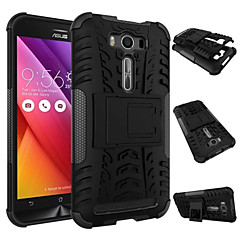 Antiskid Tyre Heavy Duty Silicone Shockproof Protective Case With Stand for Asus Zenfone 2 Laser ZE500KL 5.0""