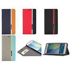 Για Samsung Galaxy Θήκη Θήκη καρτών / με βάση στήριξης / Ανοιγόμενη / Μαγνητική / Με σχέδια tok Πλήρης κάλυψη tok Γεωμετρικά σχήματα