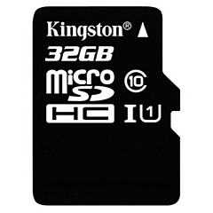 Kingston 32GB Micro SD-kort TF-kort minneskort UHS-I U1 class10