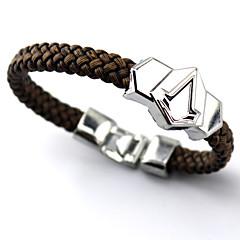 Mücevher Esinlenen Assassin's Creed Connor Anime / Video Oyunları Cosplay Aksesuarları Bileklikler Gümüş Alaşım Erkek