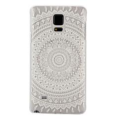 Voor Samsung Galaxy Note Transparant hoesje Achterkantje hoesje Mandala PC Samsung Note 5 / Note 4