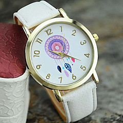 Women's New Fashion Leather Dreamcatcher Wrist Watch Cool Watches Unique Watches