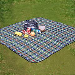 TIROL Fold Waterproof Outdoor Beach Picnic Camping Mat Travel Picnic Mat Plaid Blanket Rug