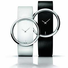High - grade Brand Transparent Table Frame Fashion Belt Couple Quartz Watch Cool Watches Unique Watches