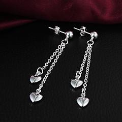Sølvbelagt Hjerte Hjerteformet Sølv Smykker
