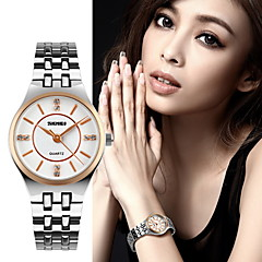 Women's Luxury Slim Stainless Steel Quartz Watch