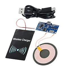 standard de qi cwxuan ™ DIY PCB transmisie wireless + dc a primit modul de încărcare set