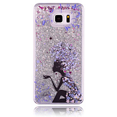 Blumenfee pc stereoskopischen Sterne Treibsand Telefonkasten für Samsung Galaxy Hinweis 3/4/5 (verschiedene Farben)