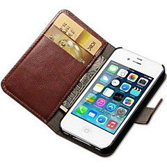 For iPhone 7 etui iPhone 7 Plus etui iPhone 6 etui iPhone 6 Plus etui iPhone 5 etui Pung Kortholder Med stativ Flip Etui Heldækkende Etui