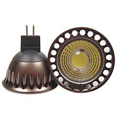 5W GU5.3(MR16) Żarówki punktowe LED R63 1 COB 400 lm Ciepła biel / Zimna biel Dekoracyjna DC 12 / AC 12 / AC 110-130 V 1 sztuka