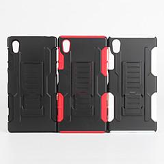 Varten Sony  kotelo / Xperia Z5 Iskunkestävä Etui Takakuori Etui Panssari Kova PC varten Sony Sony Xperia Z5