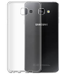 Für Samsung Galaxy Hülle Transparent Hülle Rückseitenabdeckung Hülle Einheitliche Farbe TPU SamsungA7(2016) / A5(2016) / A3(2016) / A9 /