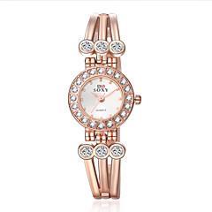 Women' Quartz Watch Fashion Wrist Watches Flower Bracelet Watch Wristwatch Clock Quartz Watch Cool Watches Unique Watches