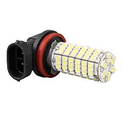 høj effekt auto bil H11 tåge forlygte lampe pære 3528smd hvide 120 lysdioder 12v 800lm 5000-6000k