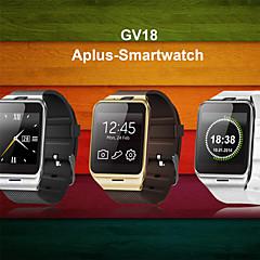 eerste nfc bluetooth slimme horloge gv18 SmartWatch camera GSM SIM-kaart voor iOS en Android-telefoon