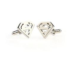 erkek kol düğmeleri paslanmaz çelik kol düğmeleri düğün yenilik gümüş lot hediye gömlek