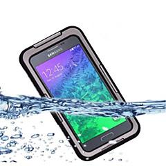 Mert Samsung Galaxy Note Vízálló / Porálló / Ütésálló Case Teljes védelem Case Egyszínű PC Samsung Note 4