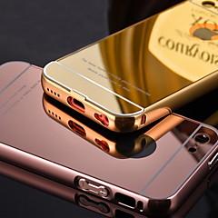 luxus bevont fém keret növeli átlátszó akril fedél telefon tok iPhone 5c (vegyes színek)