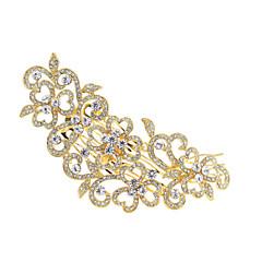 Long Hairpins Bridal Hair Combs Rhinestone Crystals Hair Clips Wedding Hair Jewelry Accessories