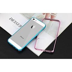 Το νεότερο γύρο άκρη μεταλλική θήκη προστασίας από κράμα αλουμινίου πλαίσιο προφυλακτήρα για το iPhone 5 / 5S