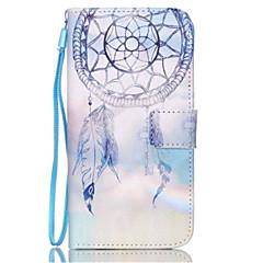 Campanula Pattern PU Leather Phone Case For Galaxy S3/S4/S5/S6/S6 edge/Galaxy S6 edge Plus/S3 Mini/S4 Mini/S5 Mini