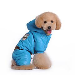 Perros Abrigos / Mono Multicolor Invierno Policía/Militar A Prueba de Agua / Mantiene abrigado / Moda