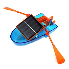 zasilany energią słoneczną zespół kajakowy DIY zabawka statku