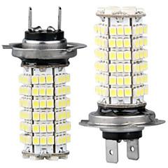 2 x hl7 lâmpada 3528 SMD LEDs 120 carros 12v branco