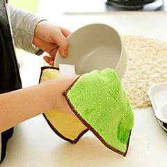 Fiber Absorbent Cleaning Cloth(Random Color)