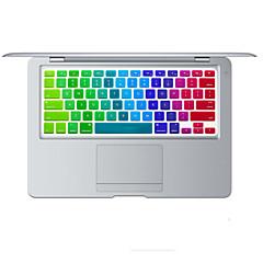 ουράνιο τόξο δέρμα φωτεινό σχεδιασμό σιλικόνης πληκτρολόγιο κάλυψη για MacBook Air 13.3, MacBook Pro με αμφιβληστροειδή 13 15 17 μας