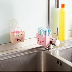 Cartoon Kitchen Sink Drain And Multi-purpose Storage Baskets Storage Bag