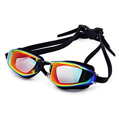Gafas de natación Unisex Impermeable Gel de Sílice PC Blanco / Negro / Azul oscuro Azul / Azul oscuro / Púrpura / Rojo / Negro