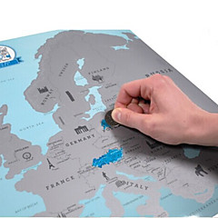 puslespil 3D-puslespil Byggesten DIY legetøj Papir Brun / Grå Spil Legetøj