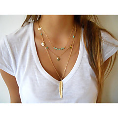 Alloy Necklace Pendant Necklaces Party / Daily / Casual 1pc