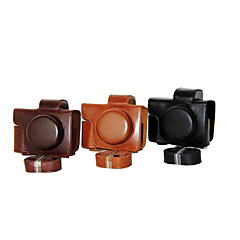 Dengpin® PU Leather Camera Case Bag Cover for Olympus E-M10 MARK II EM10 Mark2 (14-42mm EZ lens(Assorted Colors)
