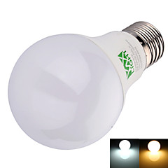 9W E26/E27 Ampoules Globe LED A60(A19) 22 SMD 2835 800 lm Blanc Chaud / Blanc Froid Décorative AC 100-240 V 1 pièce