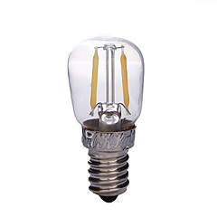 YouOKLight® E14 2W LED Filament Bulb Warm White 3000K 200lm - Transparent + Silver (AC 220V)