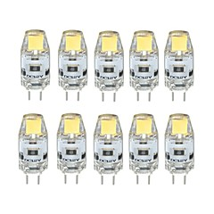 2W G4 Luces LED de Doble Pin T 1 COB 170 lm Blanco Cálido / Blanco Fresco Regulable DC 12 V 10 piezas