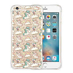Unicorn Park Soft Transparent Silicone Back Case for iPhone 6/6S (Assorted Colors)