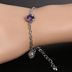 European fashion zircon Beaded Bracelet Series8  Wedding / Party / Daily / Casual 1pc